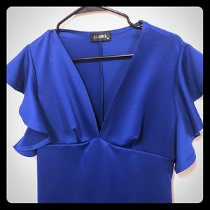 ASOS Royal Blue  Club L dress